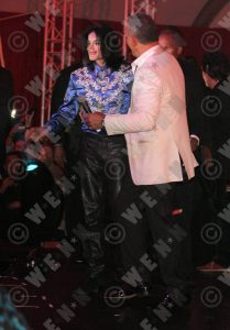 MJ at Christian Audigier's B'day party (VIDEO)