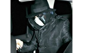 MJ with Blanket in Beverly Hills Recently – MiniB#62